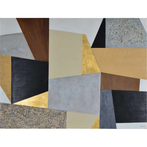 Banting Alternative Wall Decor - Gold Leaf Accent