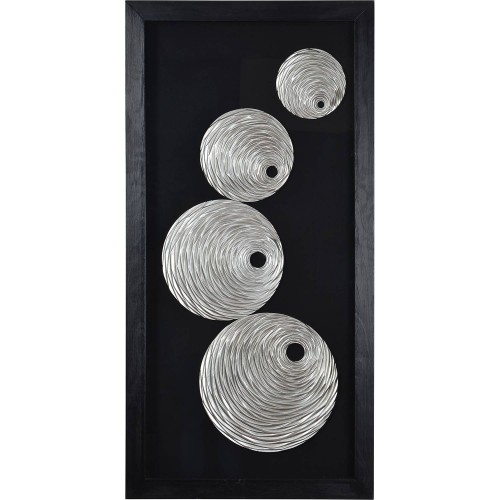 Ahara Alternative Wall Decor - Glass/Black