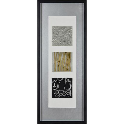 Hutchison Alternative Wall Decor - Glass/Black