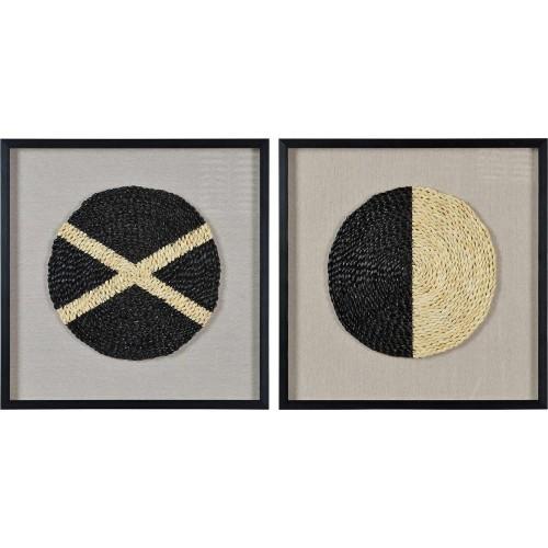 Genero Alternative Wall Decor - Glass/Black