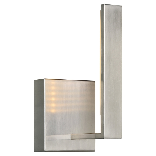 Onyx Sconce Lighting - Satin Nickel