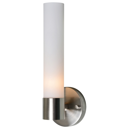 Sandy Sconce Lighting - Satin Nickel