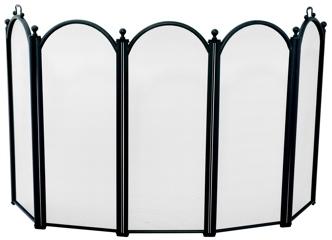 5 Fold Black Large Diameter Screen-Uniflame