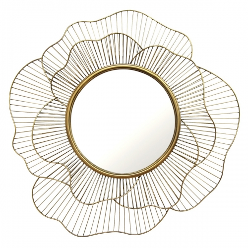 Stella Wall Mirror - Gold