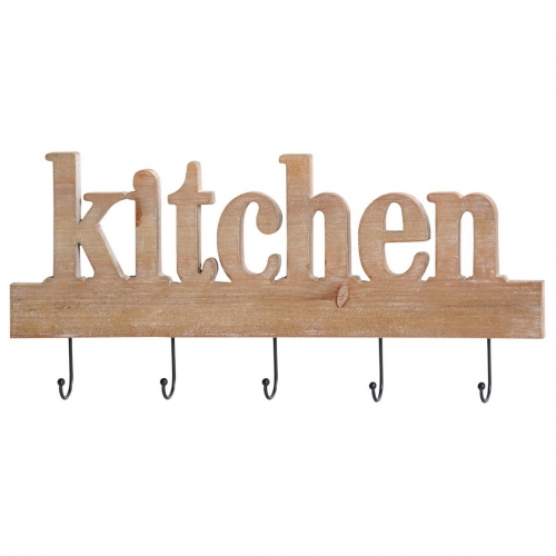 Kitchen Typography Wall Decor - Washed Wood