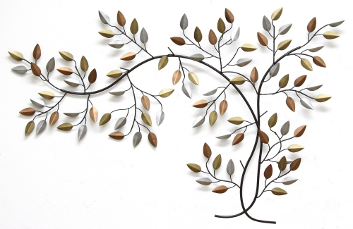 Tree Branch Wall Decor - Bronze/Gold/Espresso