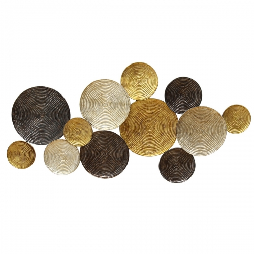 Multi Circles Wall Decor - Multi