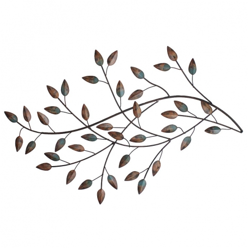 Blowing Leaves Wall Decor - Multi