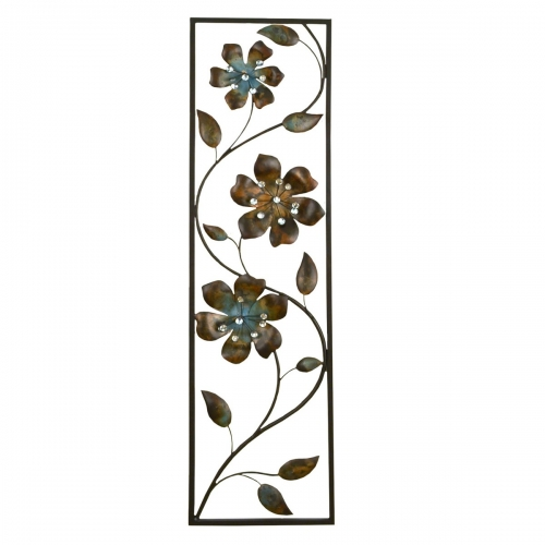 Winding Flowers Wall Decor - Multi