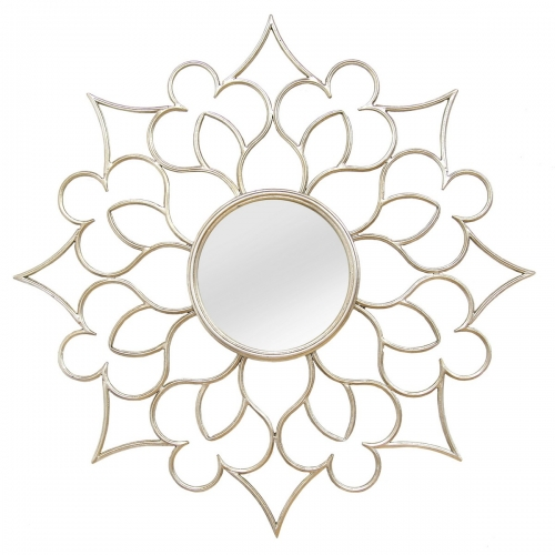 Francesca Wall Mirror - Silver