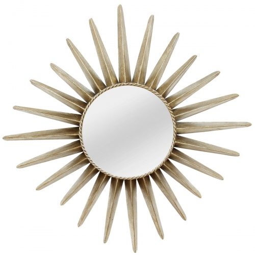 Charlotte Wall Mirror - Bronze
