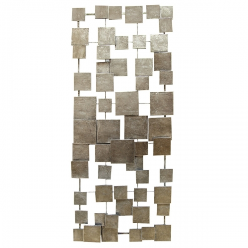 Geometric Tiles Wall Decor - Champagne