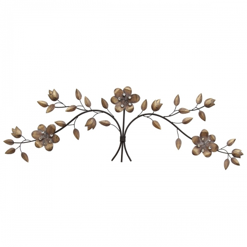 Over the Door Floral Bouquet Wall Decor - Multi