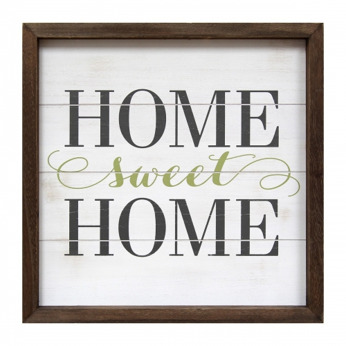 Home Sweet Home Wall Art - Multi