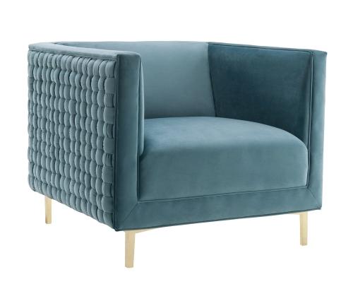 Sal Woven Chair - Blue
