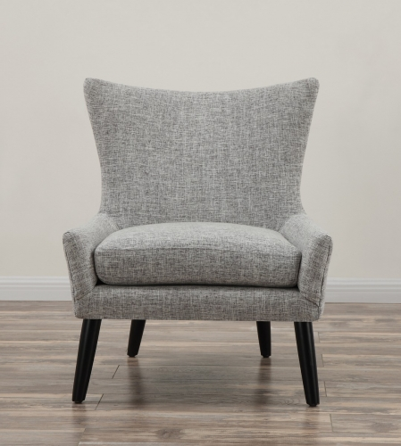 Sullivan Grey Linen Chair