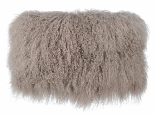 Tibetan Sheep Large Pillow - Brown