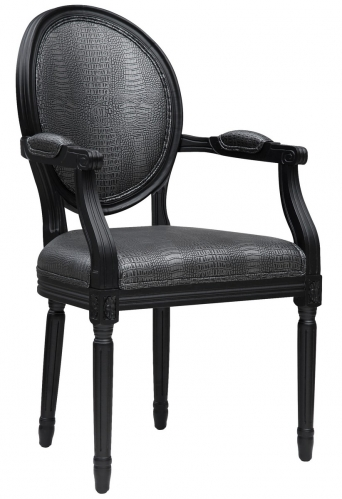Philip Croc Arm Chair