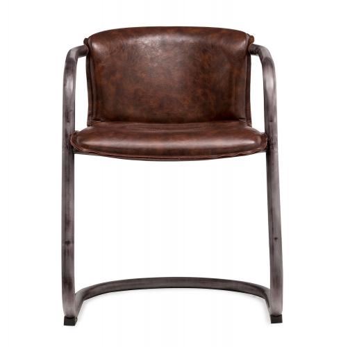 Colt Chair - Silver/Brown