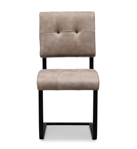 Cora Chair - Smokey Taupe/Black - Set of 2