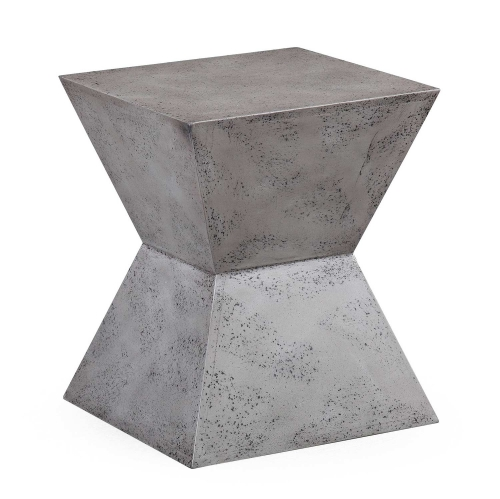 Everly Square Stool - Concrete