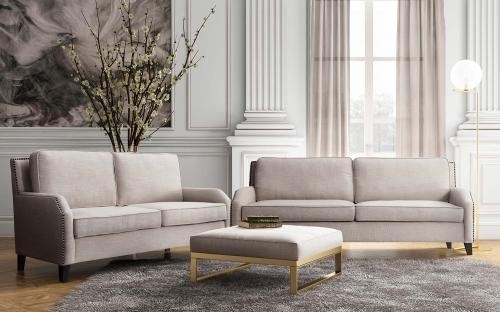Hartford Living Room Set - Beige