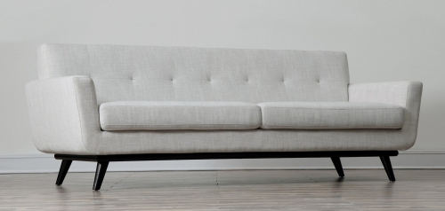 James Beige Linen Sofa