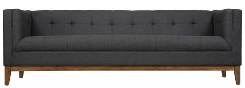 TOV Furniture Gavin Grey Linen Sofa