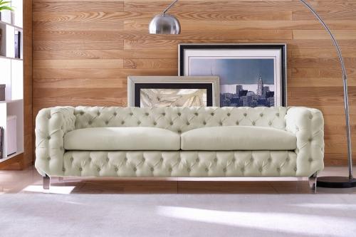 Celine Beige Linen Sofa
