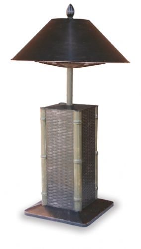 Sumatra Electric Heater Table Lamp - Uniflame