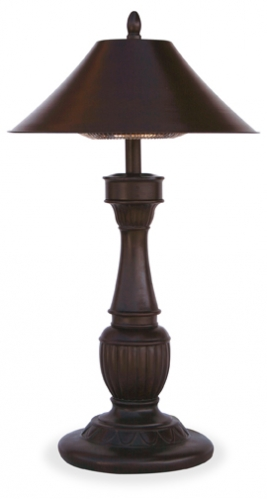 Northgate Electric Heater Table Lamp - Uniflame