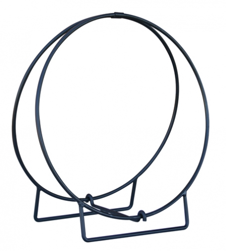 36 Inch Black Log Hoop - Uniflame