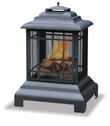 Belmont Outdoor Firehouse - Uniflame