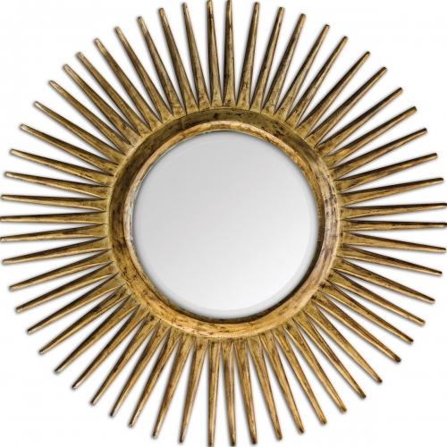 Destello Gold Starburst Mirror