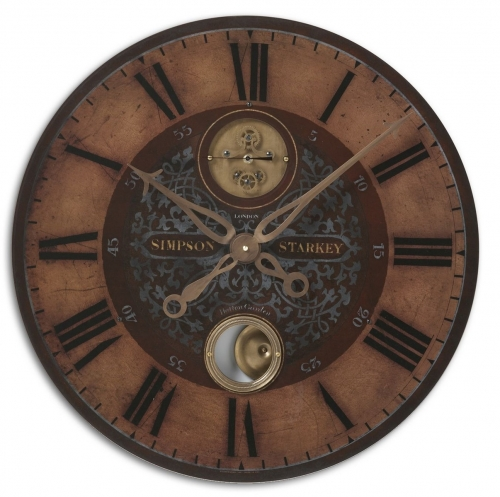 Simpson Starkey 23 Wall Clock