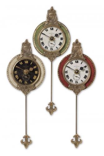 Monarch Wall Clock - Set of 3