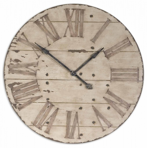 Harrington 36 Wooden Wall Clock