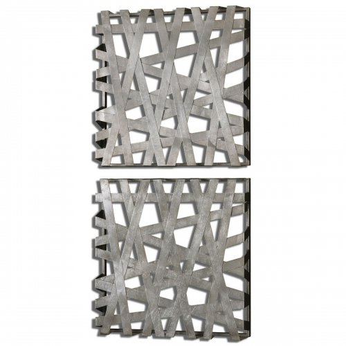 Alita Squares Wall Art - Set of 2