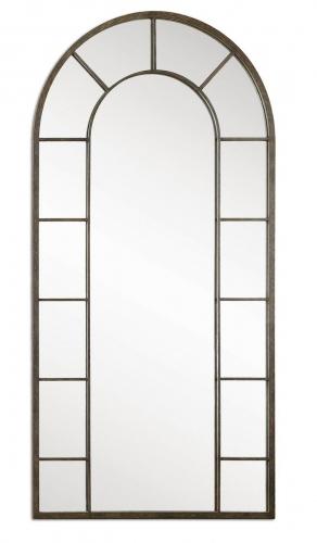 Dillingham Black Arch Mirror