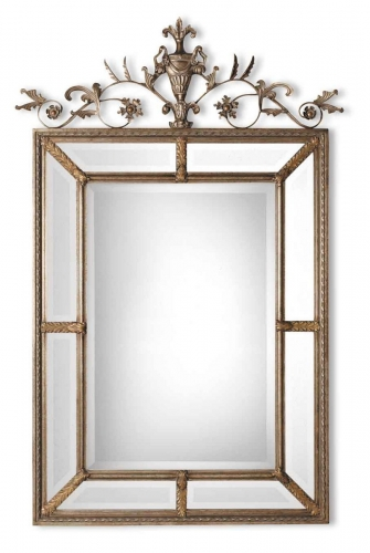 Le Vau Vertical Silver Mirror
