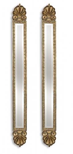 Juniper Antique Gold Mirrors - Set of 2