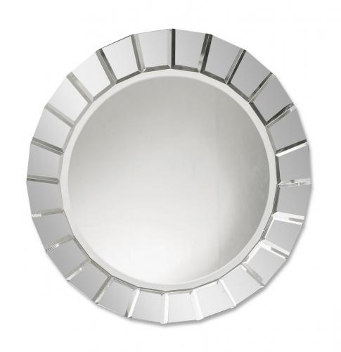 Fortune Frameless Round Mirror