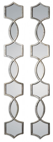 Vizela Metal Mirrors - Set of 2