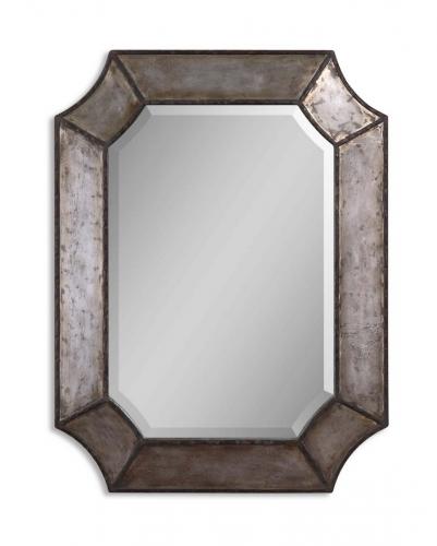 Elliot Distressed Aluminum Mirror