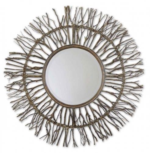 Josiah Woven Mirror