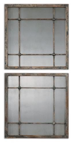 Saragano Square Mirrors - Set of 2