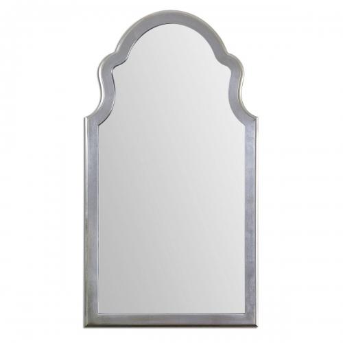 Brayden Arched Silver Mirror