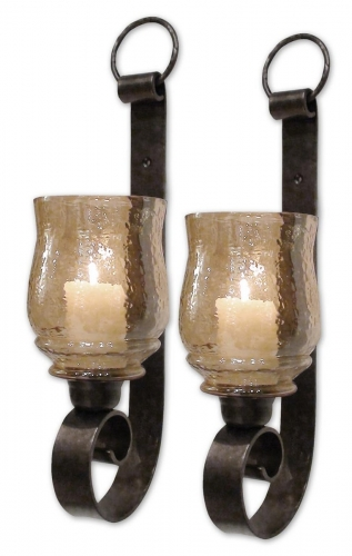 Joselyn Small Wall Sconces - Set of 2