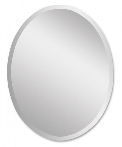 Frameless Vanity Oval Mirror