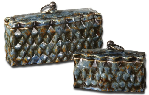 Neelab Ceramic Containers - Set of 2